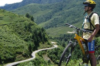 Biking to Sonagasa Village
